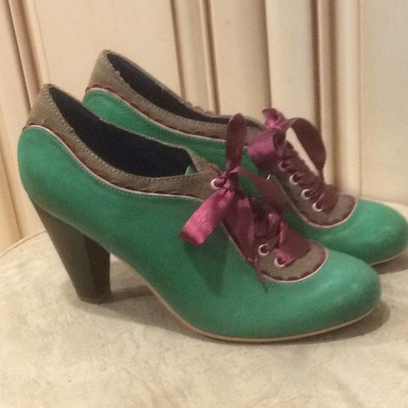 975b1566c60 Poetic Licence green shoes Sz 41. M 5a5aed6b3a112e70e391fa05